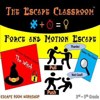Force & Motion Escape Room (3-5 Grade) | The Escape Classroom