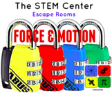 Force & Motion Science Escape Room