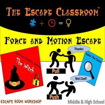 Force & Motion Escape Room | The Escape Classroom