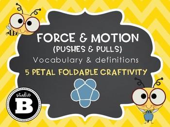Force & Motion Foldable Craftivity
