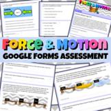 Force & Motion Google Forms Assessment Test