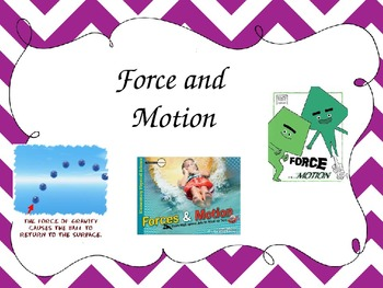 Force, Motion, Inertia, Velocity, Gravity, and Friction