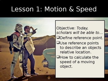 Force & Motion - Lesson 1   Position  & Speed