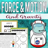 Force and Motion Mini-Unit (Anchor Charts, Worksheets & Activities)