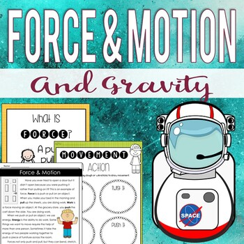 Force and Motion Mini-Unit (Anchor Charts,... by Michelle McDonald ...