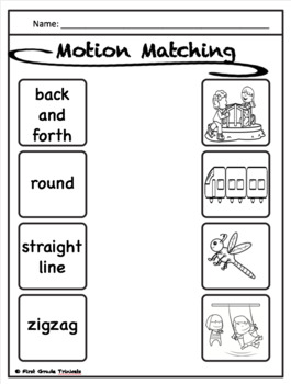 Force & Motion Packet