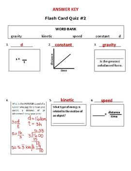 Force & Motion Quiz #2 MOD