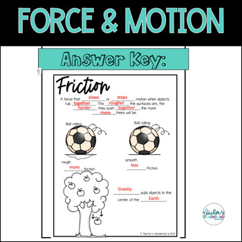 Force & Motion Science Notes