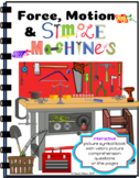 Force, Motion & Simple Machines Interactive Picture Symbol