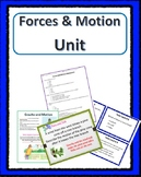 Force and Motion / Simple Machines Unit  4th Grade Science