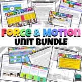 Force & Motion Unit DIGITAL (Google App) BUNDLE