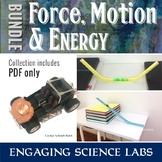 Force, Motion, and Energy: Bundle of Labs and Activities—W