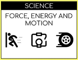 Force, Motion and Energy Cards