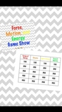 Force, Motion, and Energy Game Show Review (Keynote)