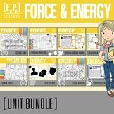 Force, Motion and Energy Unit Bundle