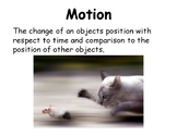 Force, Motion and Energy Vocabulary Mini-Posters