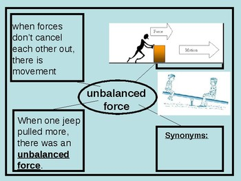 Force, Motion, and Momentum ppt Week 4