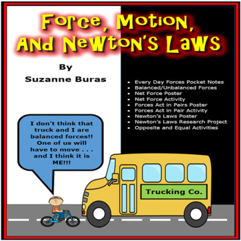 Force, Motion, and Newton's Laws