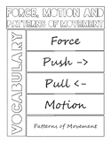 Force, Motion and Patterns of Movement