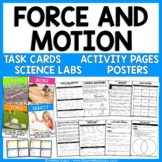 Force, Motion, and Simple Machines - Reading Passages, Lab