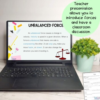 Force Nonfiction Article and Activity