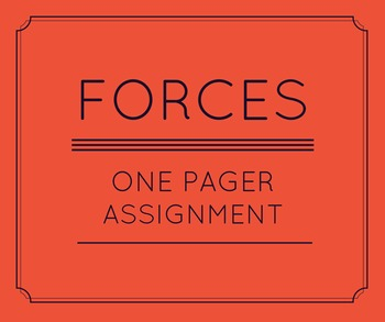 Force One Pager Assignment