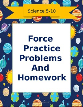 Force Practice Problems and Homework