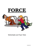 Force: Push and Pull ( Worksheets and Topic Test)