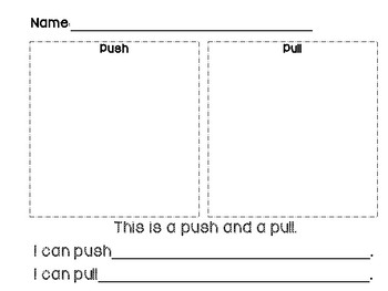 Force: Pushes & Pulls Class Book