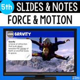 Force Slides & Notes 5th Grade | Bonus Distance Learning