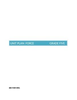 Force Unit Plan