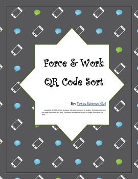 Force & Work QR Code Sort