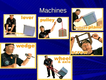 Force Work Simple Machines and Compound Machines Unit