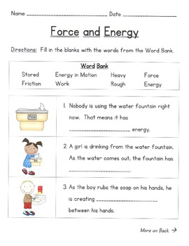 Force and Energy Pack