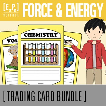 Force and Energy Trading Cards Bundle