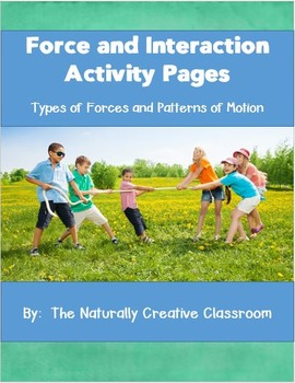 Force and Interaction Activity Pages