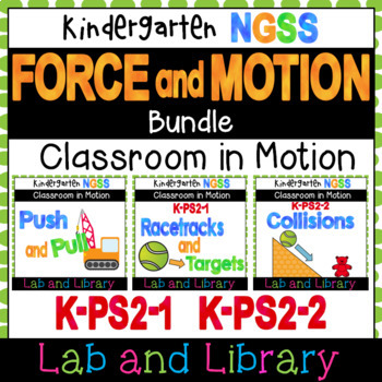 Force and Interactions: A Kindergarten NGSS Science Unit