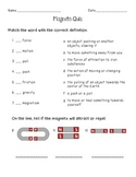 Force and Magnets Quiz