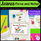 Force and Motion 1st and 2nd Grade