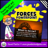 Force and Motion Activities (Force and Motion PowerPoint EDITABLE)