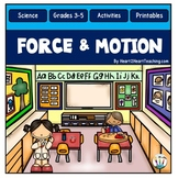 Force and Motion Activity Pack with Isaac Newton & Elijah McCoy
