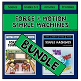 Force and Motion AND Simple Machines {ALL IN ONE BUNDLE!}