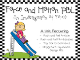 Force and Motion PBL
