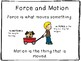Force and Motion - Force of Gravity - Magnetic Force
