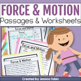 Force and Motion Worksheets with Google Classroom Digital Learning
