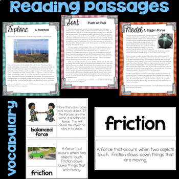 Force and Motion Science Stations
