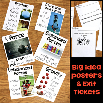 Force and Motion 5E Unit Plans for Third Grade