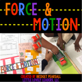 Force and Motion Activities and Experiments Complete Unit