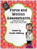 Force and Motion Assessments