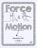 Force and Motion Assessments for First Grade Science